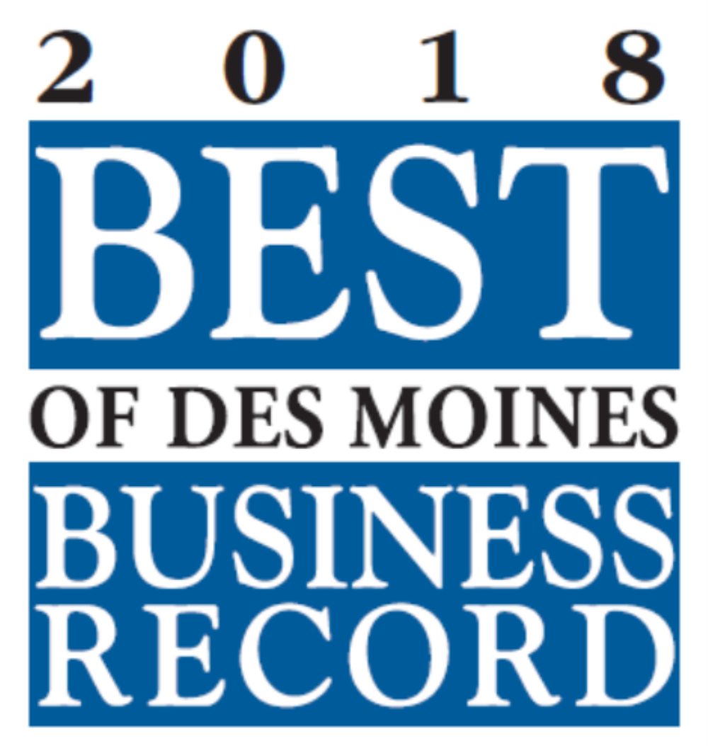 Waldinger is Best of Des Moines!