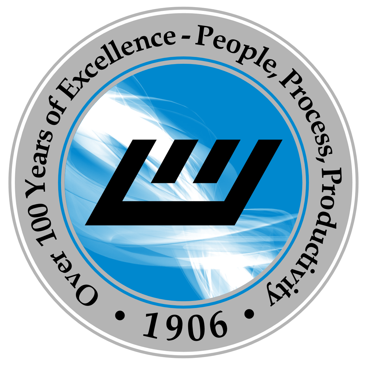 100 Years Of Excellence Logo